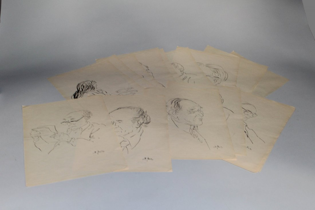 Forty-Four Pieces of Li Yan Sheng Sketches - 3