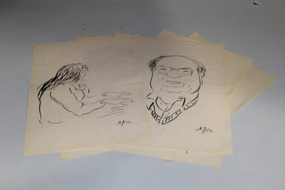 Forty-Four Pieces of Li Yan Sheng Sketches - 4