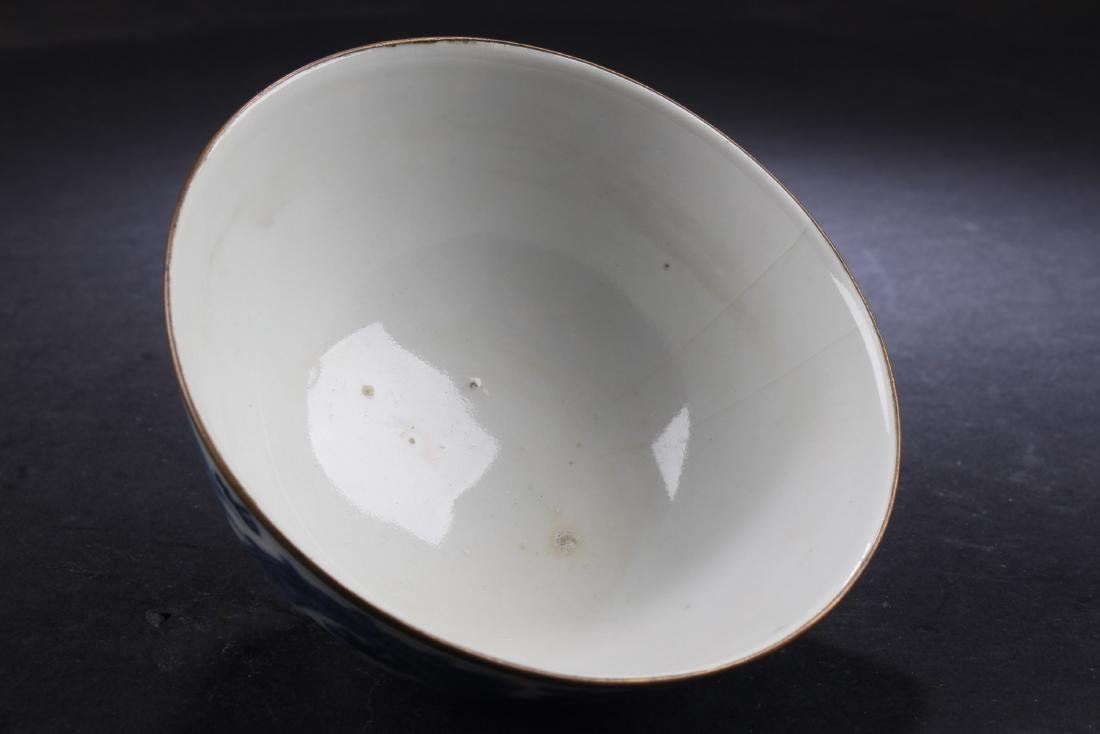 Chinese Blue and White Dragon Bowl - 3