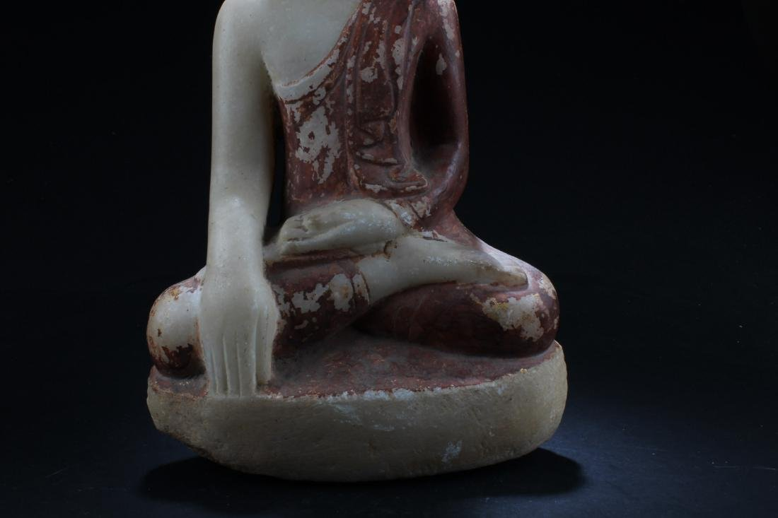 Antique Thai Buddha Statue - 2