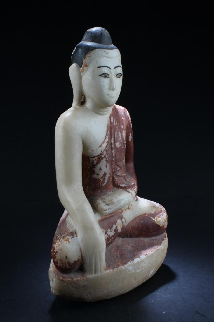 Antique Thai Buddha Statue - 3