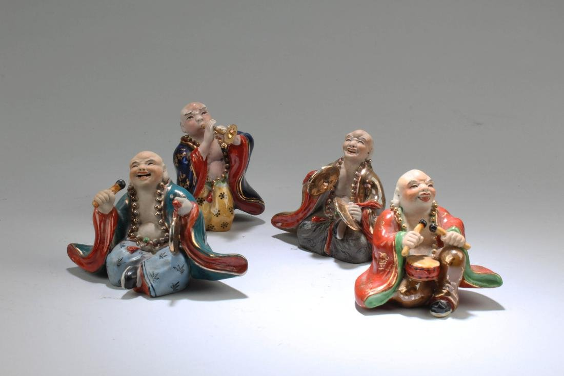 A Group of Four Chinese Porcelain Figurines - 2