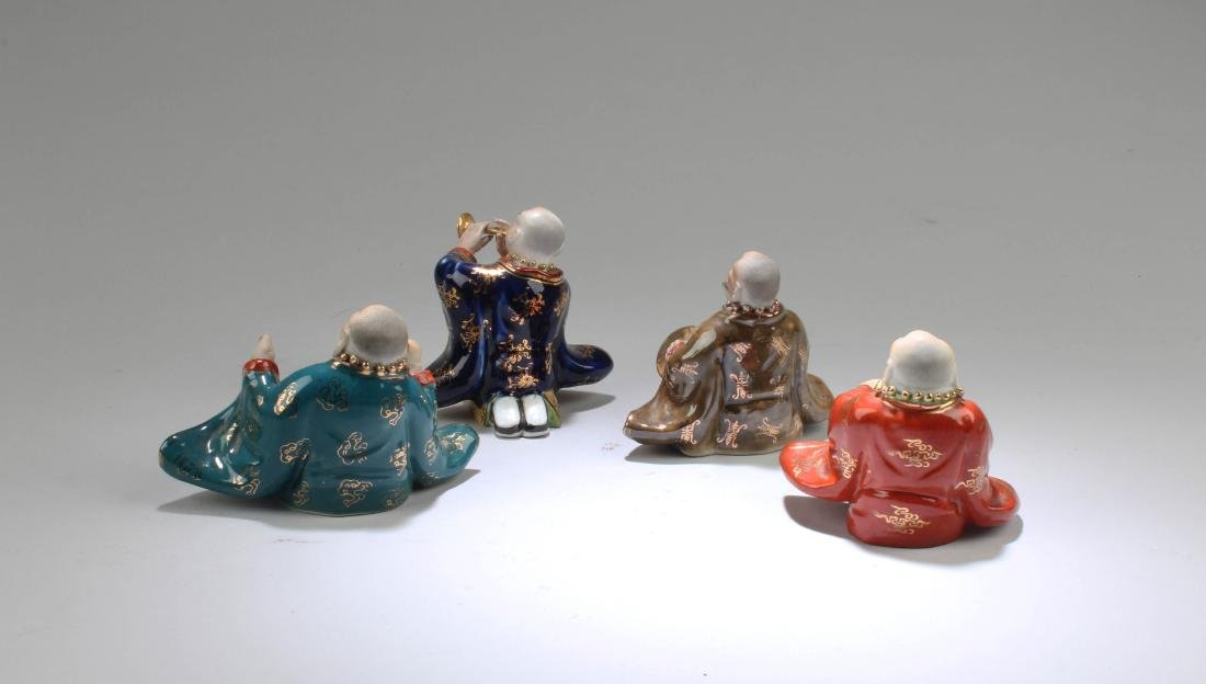 A Group of Four Chinese Porcelain Figurines - 3