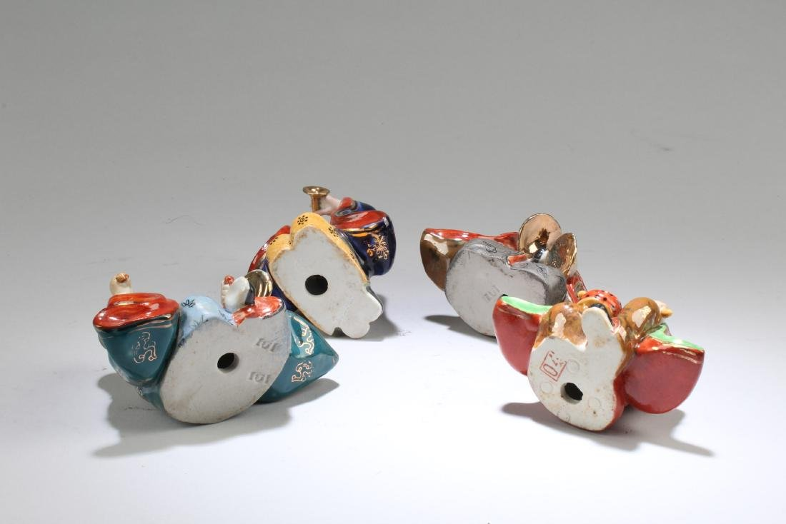 A Group of Four Chinese Porcelain Figurines - 4