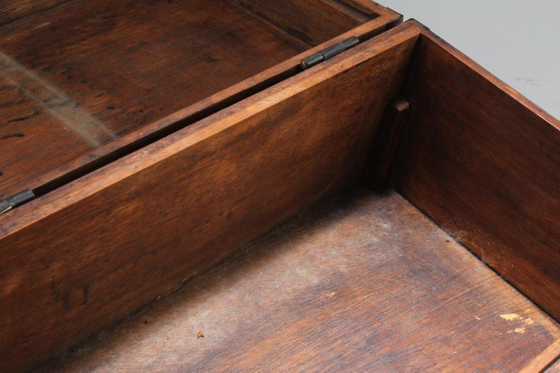 Chinese Hardwood Rectangular Box - 5