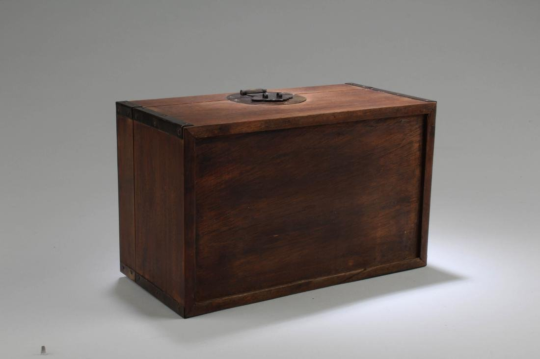 Chinese Hardwood Rectangular Box - 6