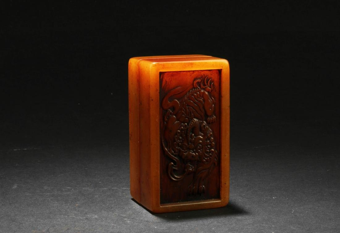 A Chinese Soapstone Seal