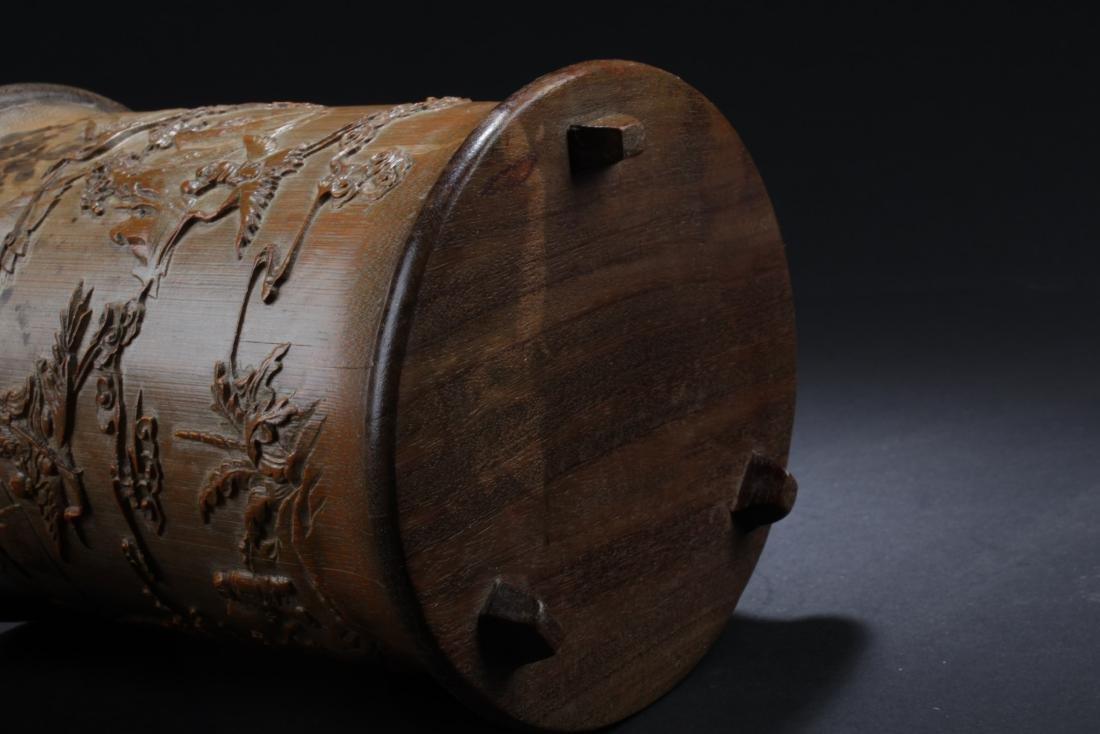 Chinese Bamboo Brushpot - 5