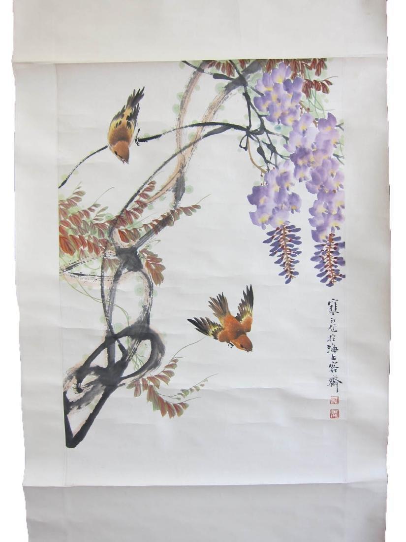 Chinese Scroll Painting, Jiang Han Ting