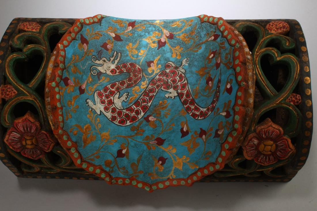 Chinese Cloisonne Pillow - 2