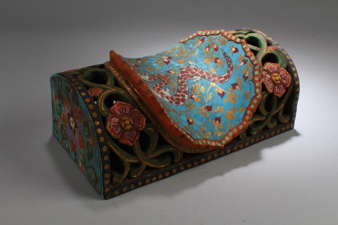 Chinese Cloisonne Pillow - 3