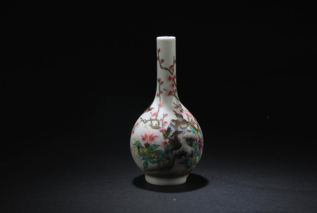 Chinese Blue & White Porcelain Plate & Porcelain Vase - 5