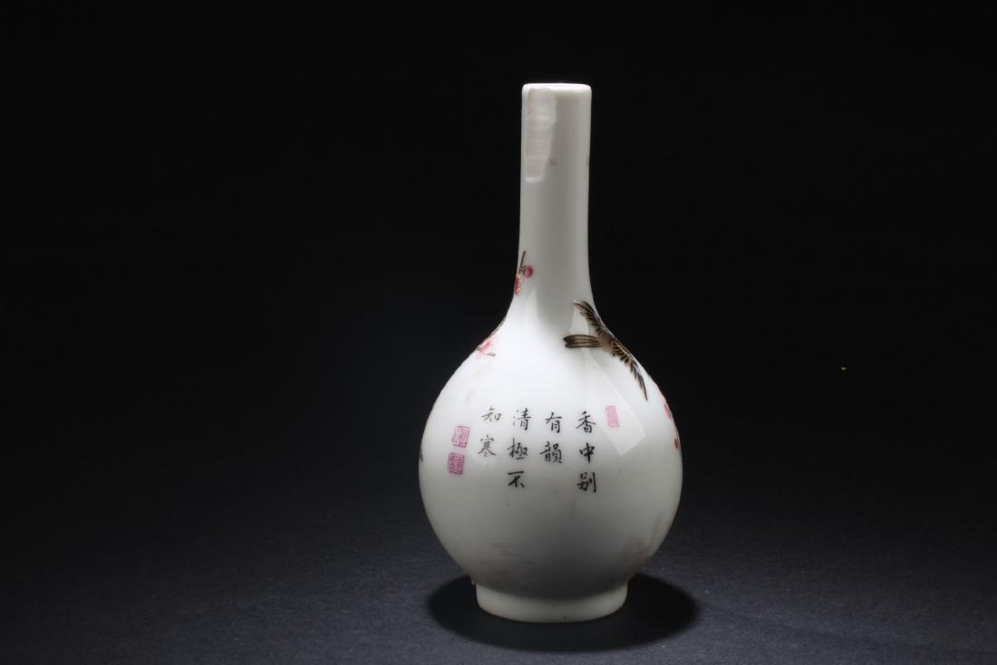 Chinese Blue & White Porcelain Plate & Porcelain Vase - 7