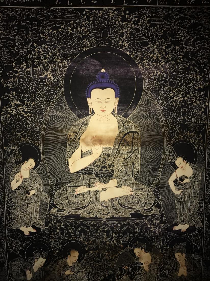 A Chinese Tibetan Thangka - 2