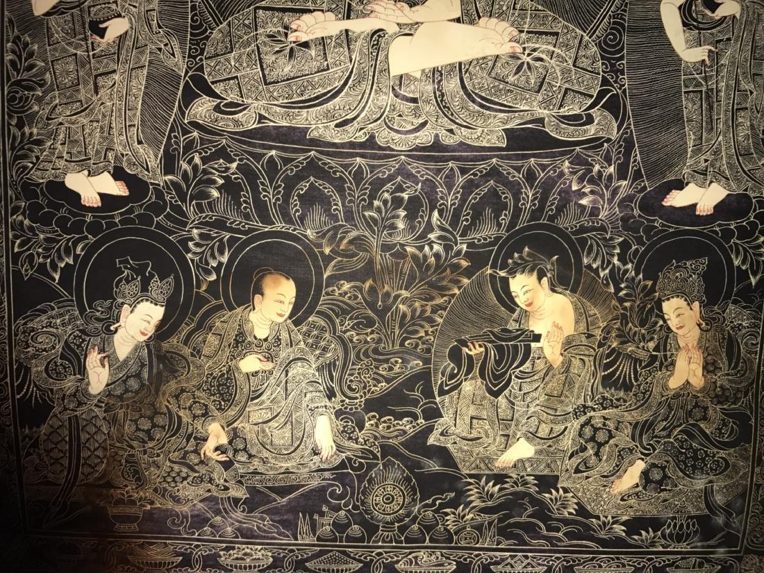 A Chinese Tibetan Thangka - 3