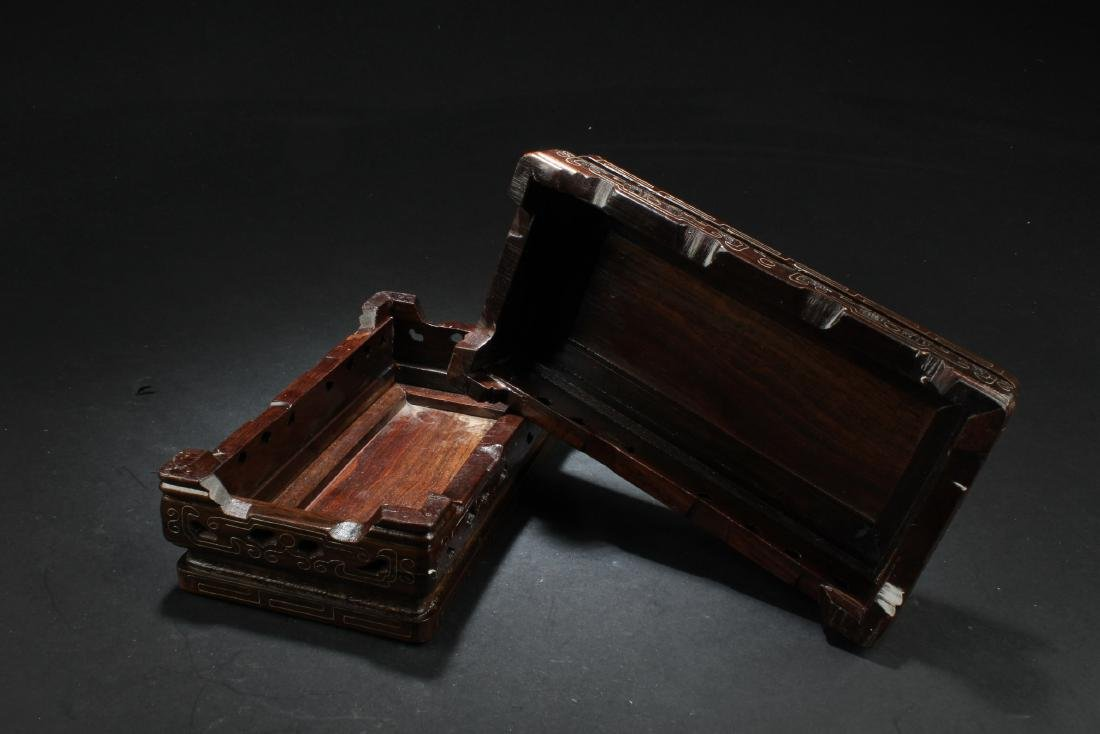 A Pair of Chinese Hardwood Stands - 2