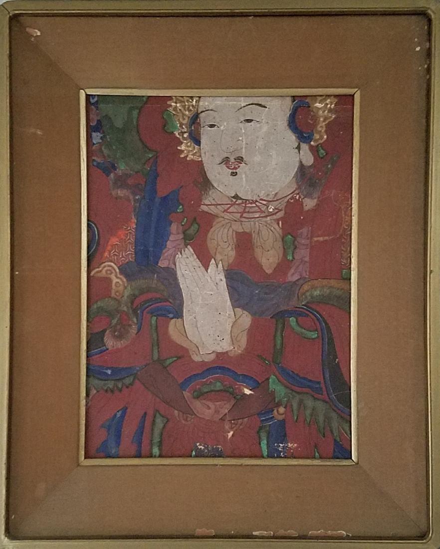 Antique Framed Juan Painting