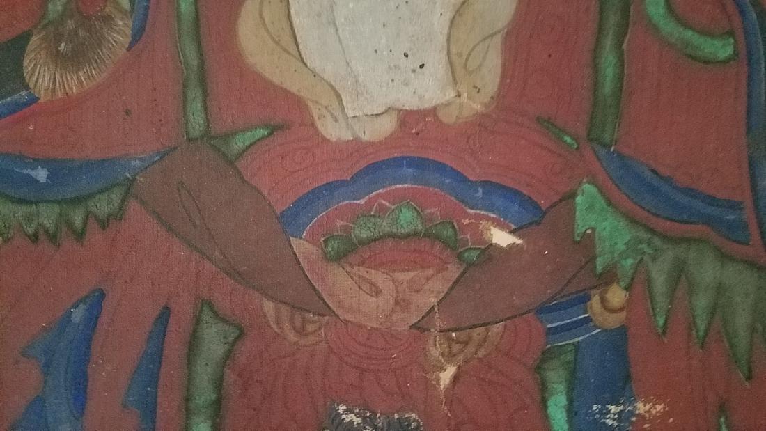 Antique Framed Juan Painting - 4