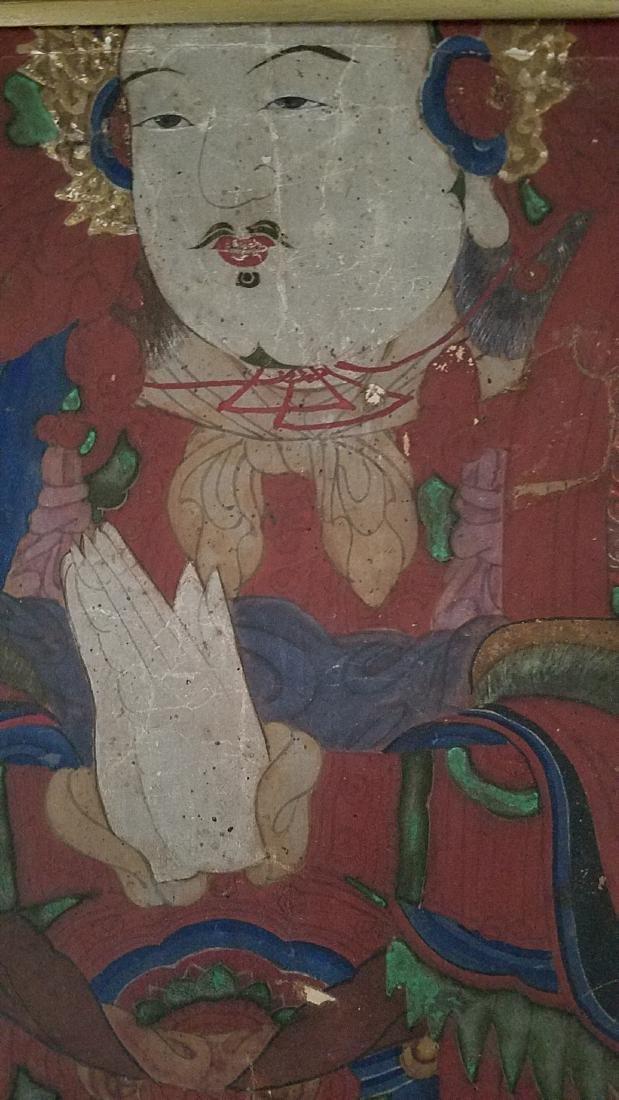 Antique Framed Juan Painting - 5