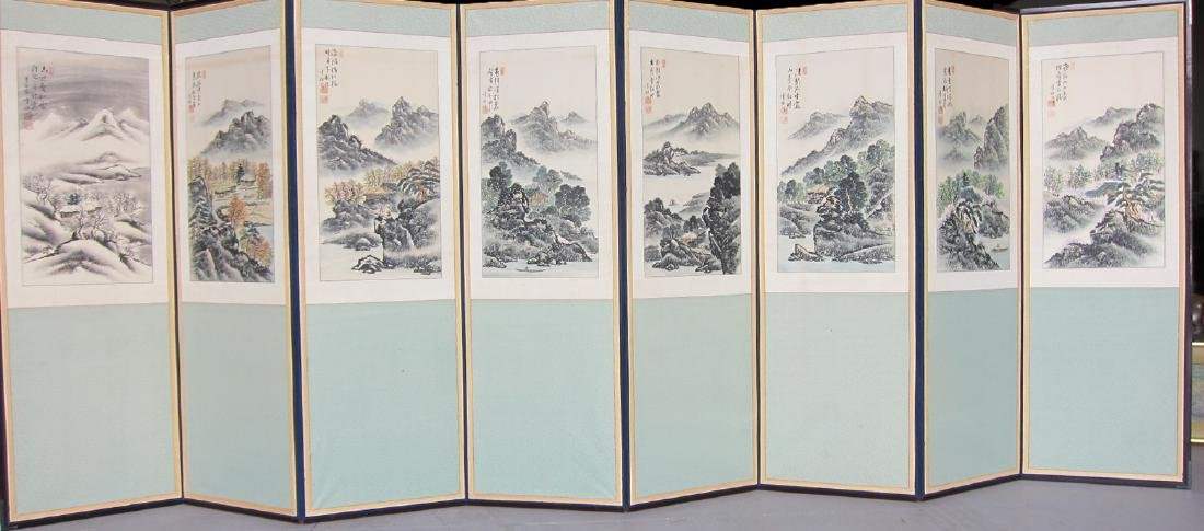 A Large Chinese Painting Album
