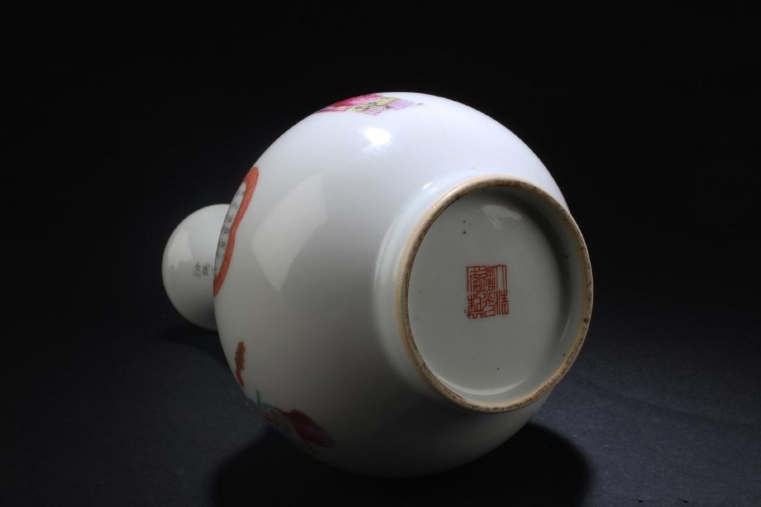 Chinese Porcelain Vase - 6