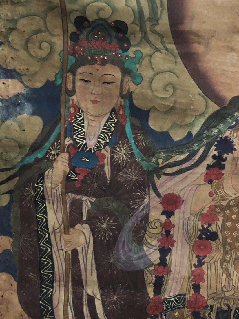 A Chinese Tibetan Thangka - 4