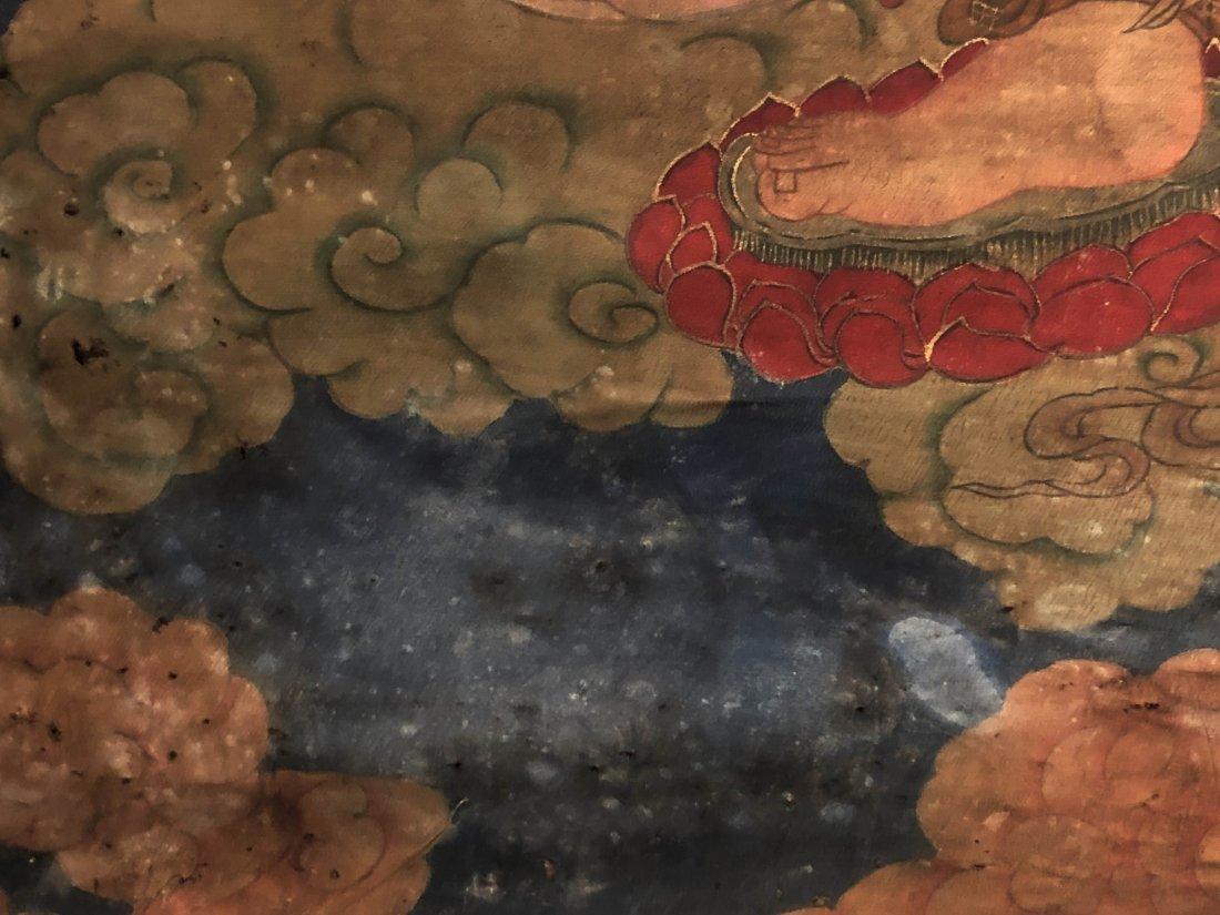 A Chinese Tibetan Thangka - 6