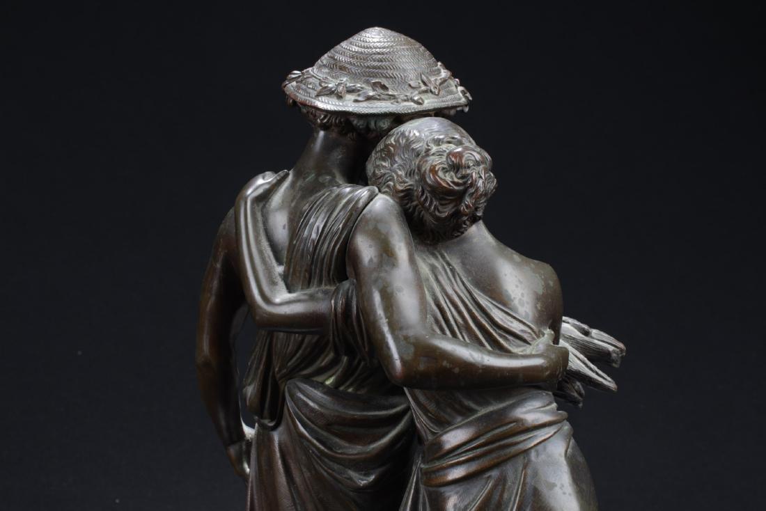 Antique European Style Bronze Statue - 6