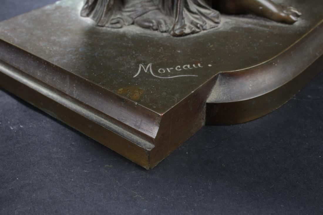 Antique European Style Bronze Statue - 7