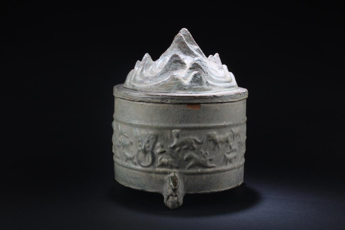 Chinese Porcelain Tripod Container