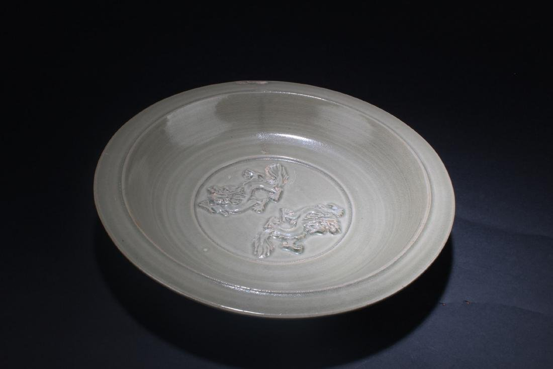 A Chinese Logquan Plate