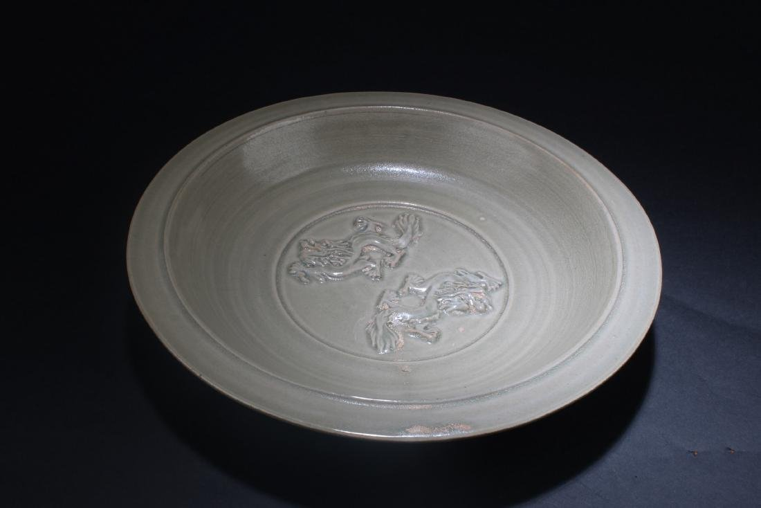 A Chinese Logquan Plate - 2