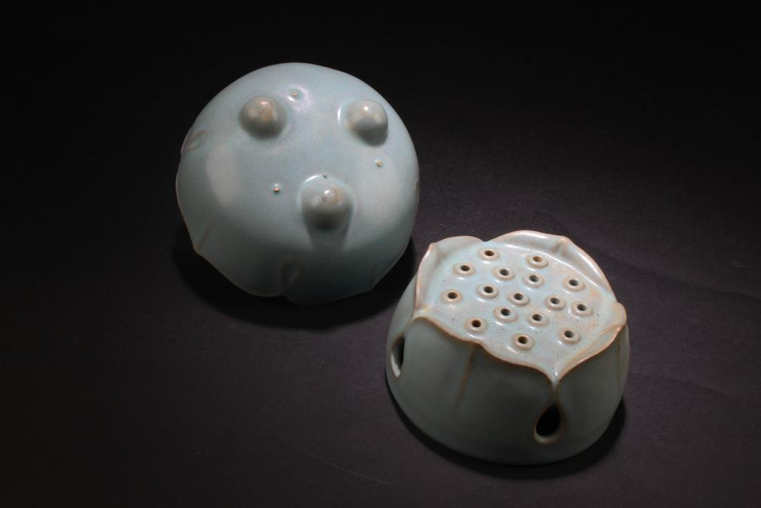 Chinese Porcelain Hand Warmer - 4