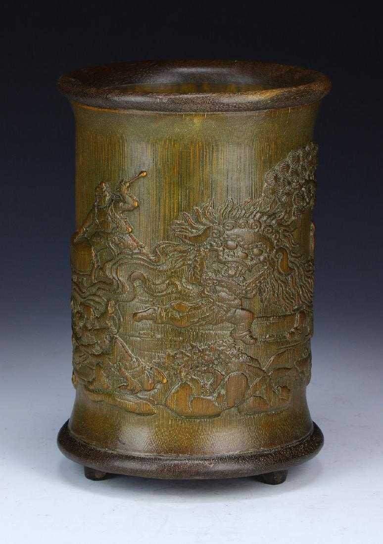 Chinese Bamboo Brushpot