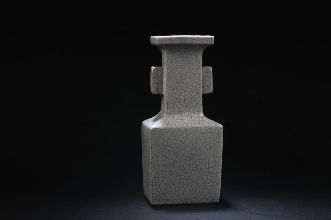Chinese Crackleware Porcelain Vase - 2