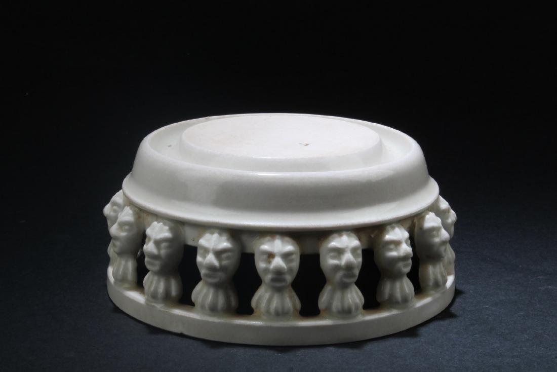Chinese Porcelain Round Base