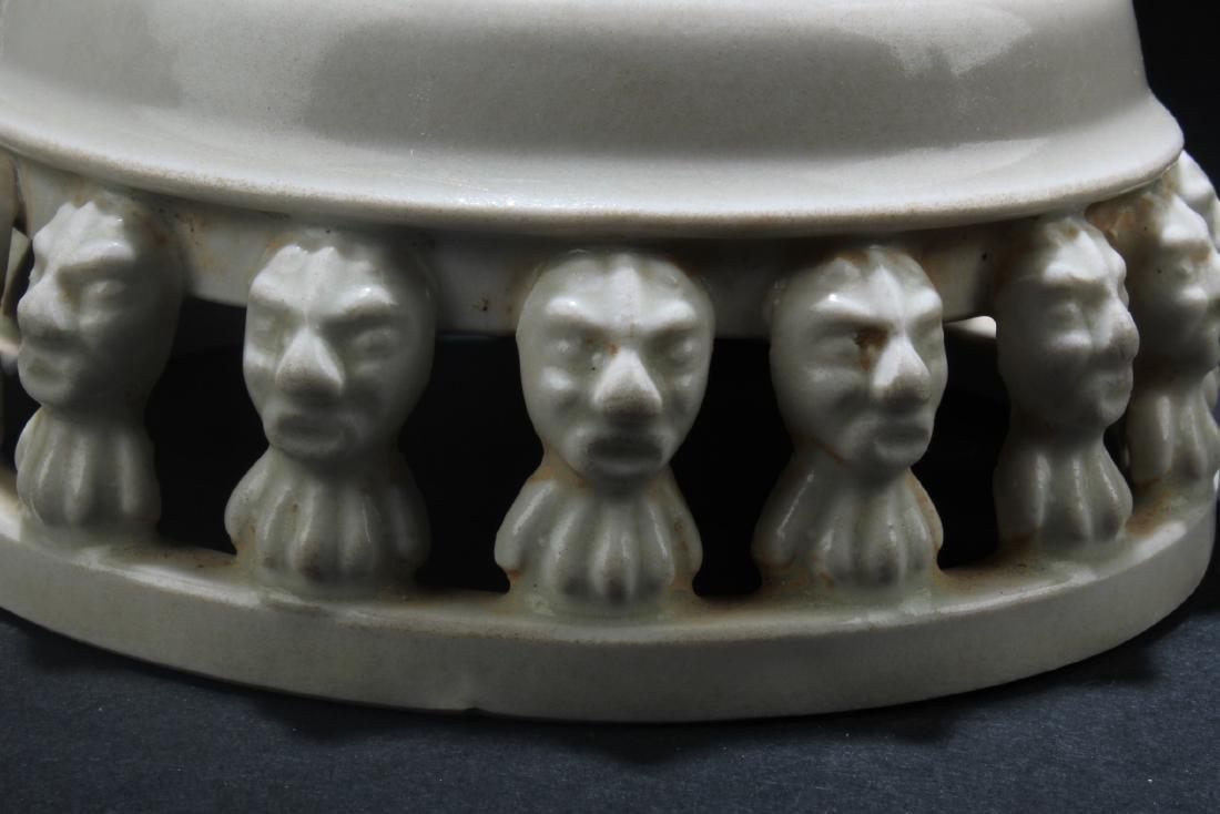 Chinese Porcelain Round Base - 3