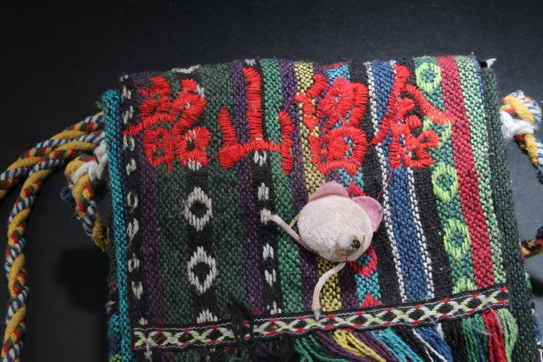 An Embroidered Sling Bag - 2