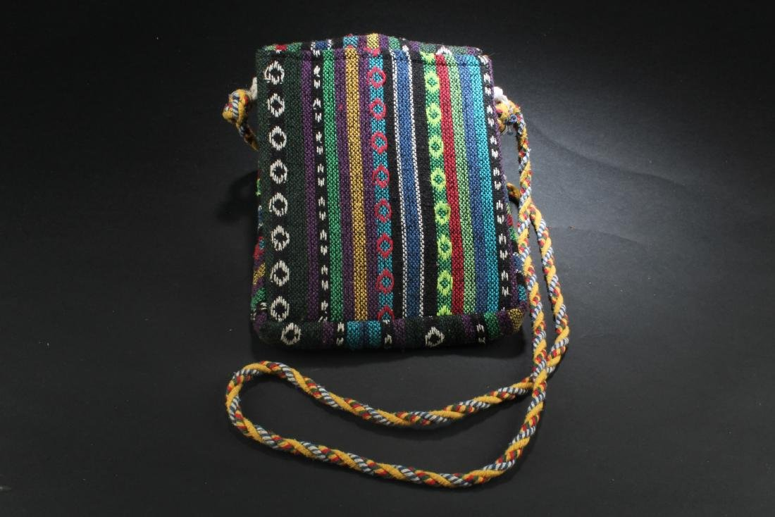 An Embroidered Sling Bag - 4