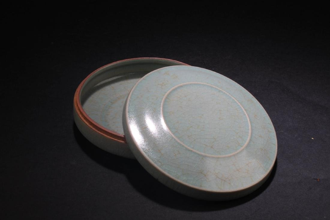 Chinese Porcelain Round Container - 2