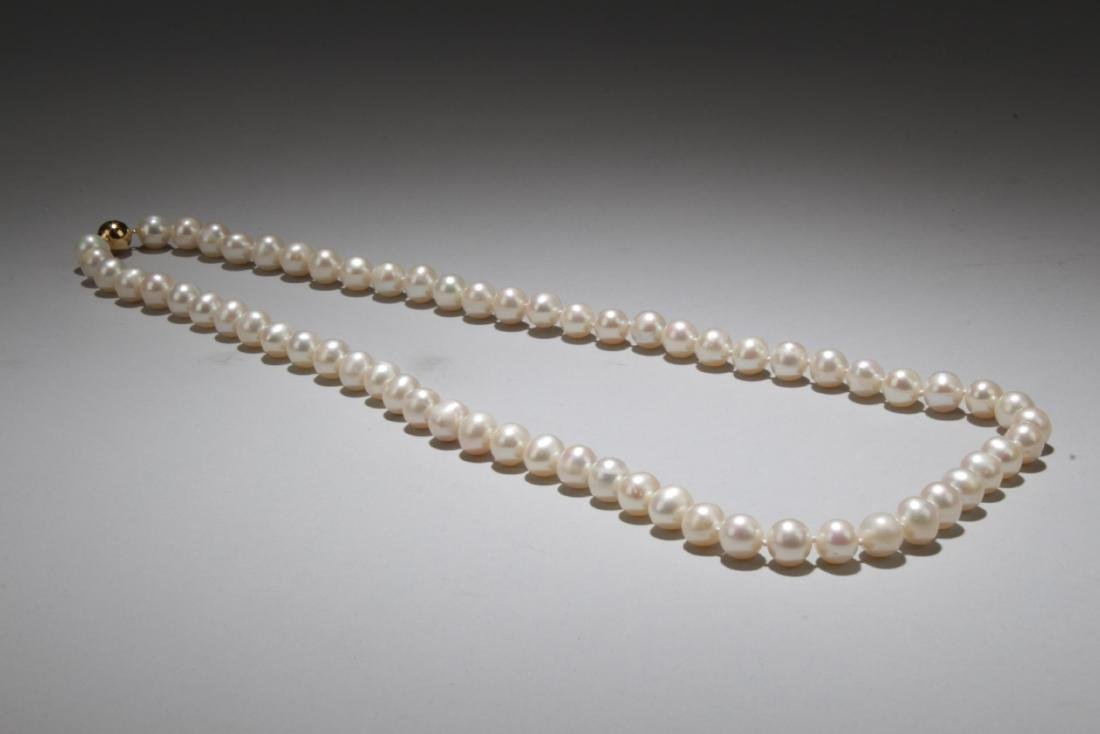 Antique Chinese Pearl Necklace