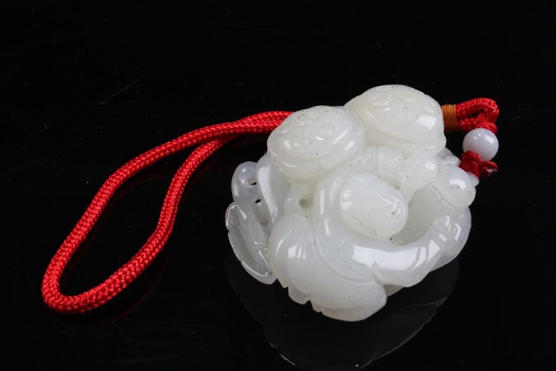 Chinese Hetian Jade Ornament