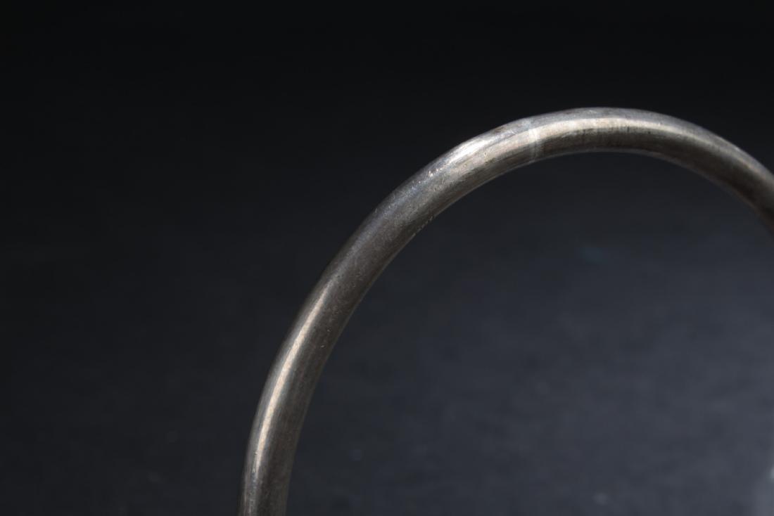 A Set of Five Silver/Cloisonne Bracelets - 5