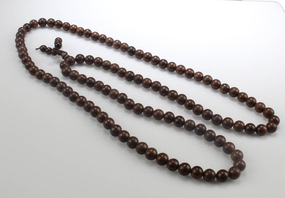Chinese Wooden Prayer Bead