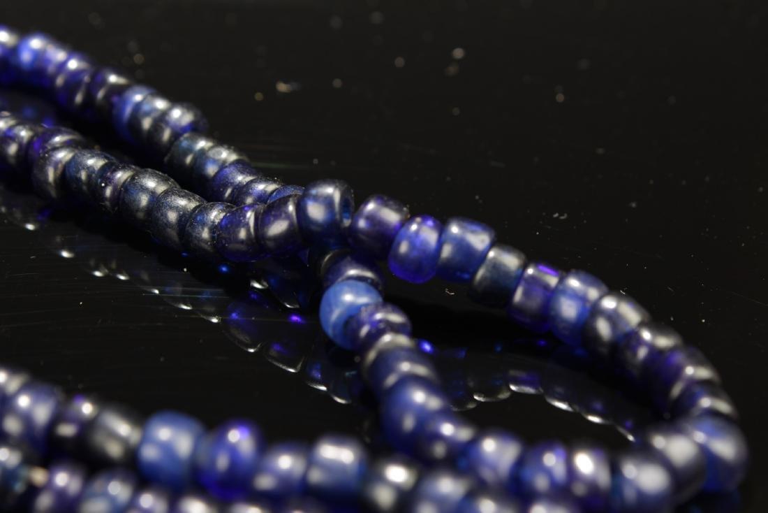 Chinese Peking Glass Necklace - 2