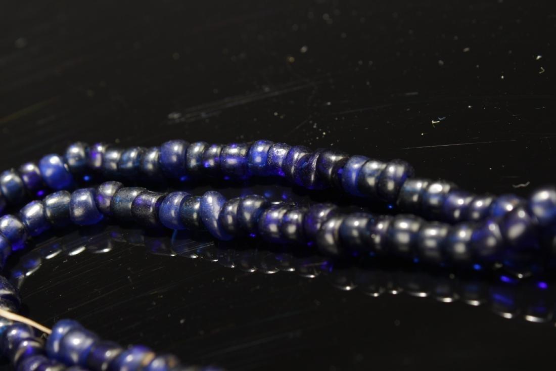 Chinese Peking Glass Necklace - 3