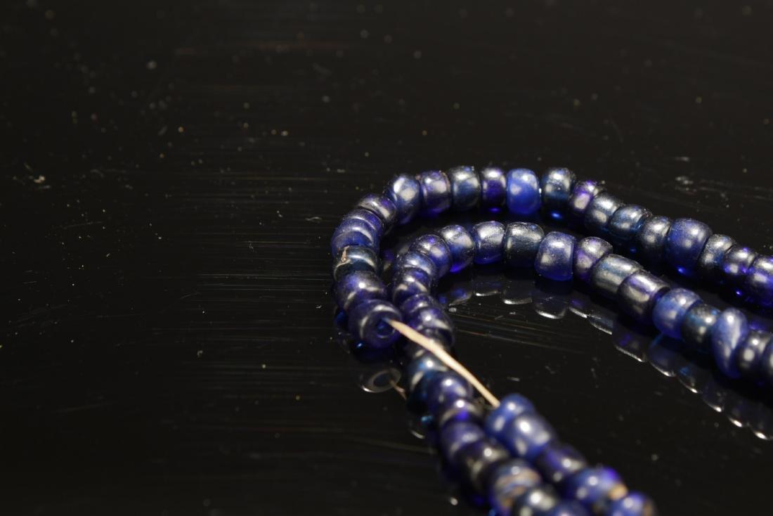 Chinese Peking Glass Necklace - 4