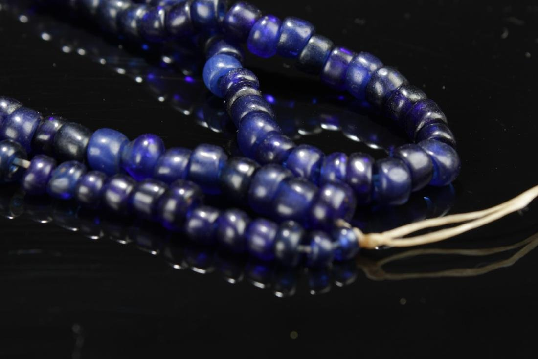 Chinese Peking Glass Necklace - 5