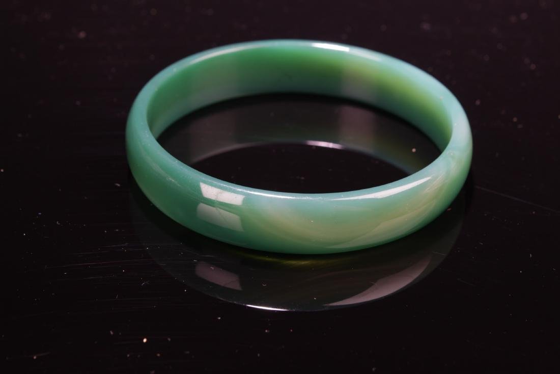 Chinese Agate Bangle