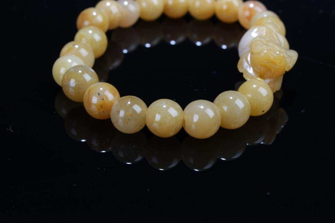 A Pair of Chinese Jade Bracelets - 3